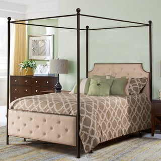 Hillsdale Jameson Antique Bronze Canopy Bed