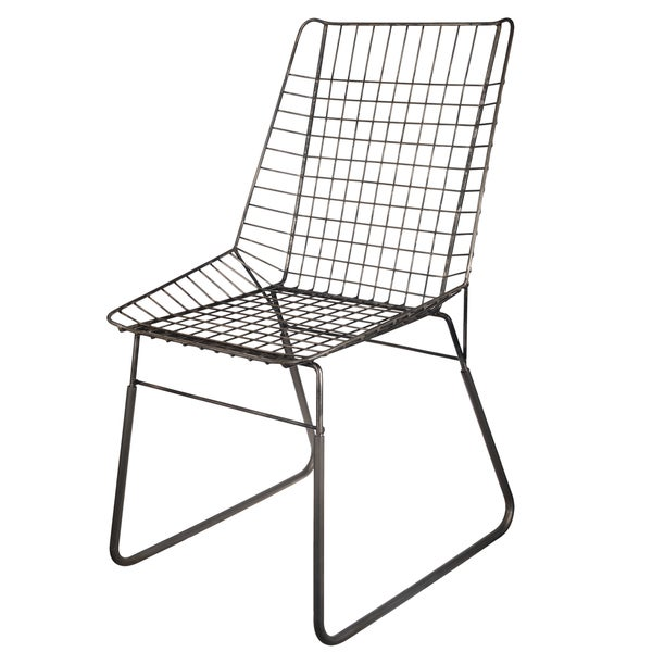 Dominic 20 X 21 5 X 36 Inch Wire Chair Free Shipping
