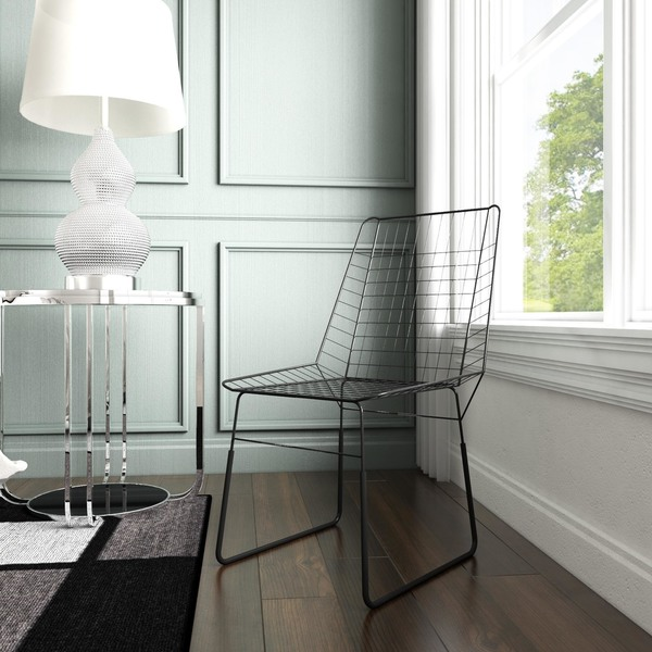Shop Dominic 20 X 21 5 X 36 Inch Wire Chair Free