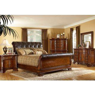 A.R.T. Furniture Old World Pomegranate California King-size Estate Bed