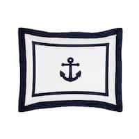 Anchors Away Standard Pillow Sham