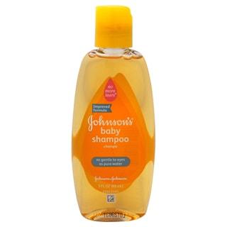 Johnson & Johnson 3-ounce Baby Shampoo Regular
