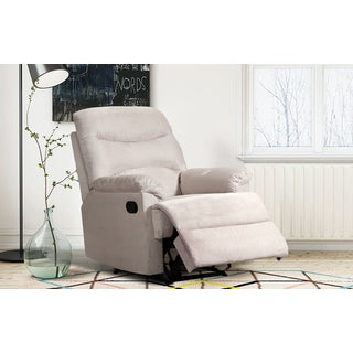 Esther Thick Microfiber Living Room Reclining Chair