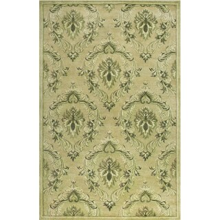 Hand-tufted Dune Neutral Wool Rug (9'6 x 13')
