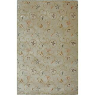 Hand-tufted Fresco Wool Rug (9'6 x 13')