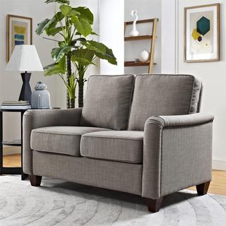 Avenue Greene Leighton Loveseat with Nailhead Trim