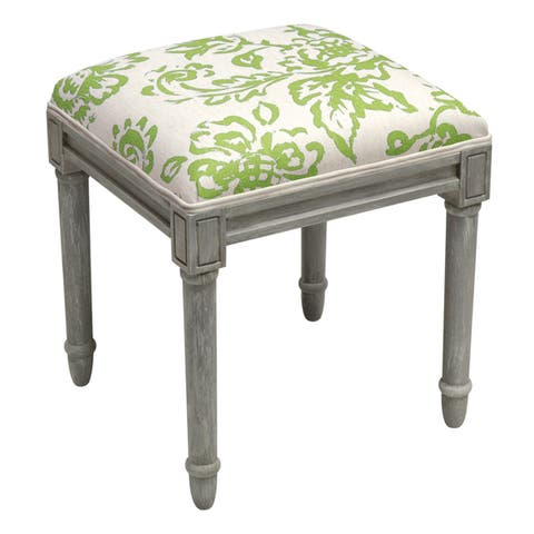 Toile Rustic-grey Vanity Stool