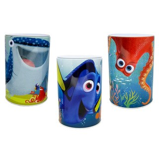 Disney Kids' 'Finding Dory' Flat-top Coin Banks (Pack of 3)