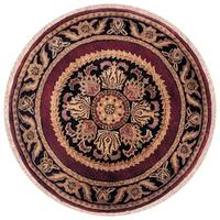Hand-tufted Majestic Wool Rug Round (10' x 10')