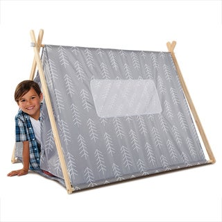Discovery Kids Wood Foldable Kids Play Tent