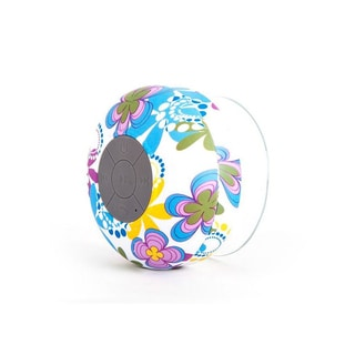 Multicolored Bluetooth Aqua Shower Speaker with a Microphone and Playback Controls