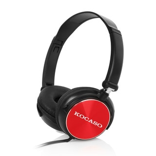 Kocaso 102db Rich Bass Lightweight Adjustable Stereo Music Headphones