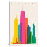 iCanvas New York City by Yoni Alter Canvas Print