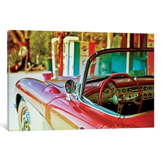 iCanvas Classic Chevrolet Corvette by Philippe Hugonnard Canvas Print