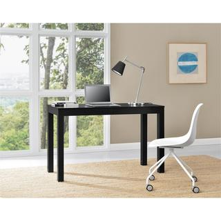 Altra Parsons Black XL Desk with 2 Drawers