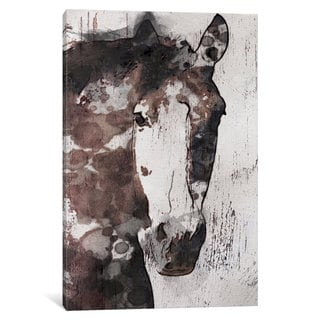 iCanvas Gorgeous Horse IV by Irena Orlov Canvas Print