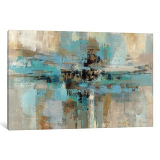 iCanvas Morning Fjord  by Silvia Vassileva Canvas Print