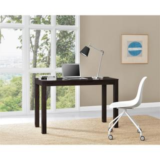Ameriwood Home Parsons Espresso XL Desk with 2 Drawers