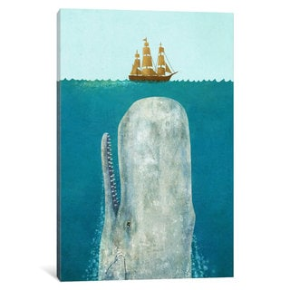 iCanvas The Whale by Terry Fan Canvas Print