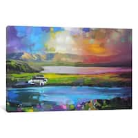 iCanvas Gesto Farm Skye by Scott Naismith Canvas Print