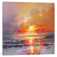 iCanvas Diminuendo Sky Study III by Scott Naismith Canvas Print