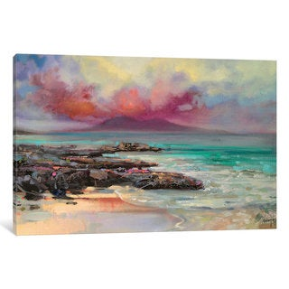 iCanvas Harris Rocks by Scott Naismith Canvas Print