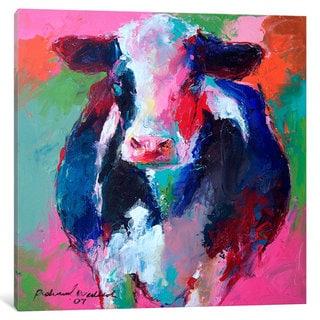 iCanvas Cow II by Richard Wallich Canvas Print