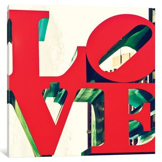 iCanvas LOVE by Philippe Hugonnard Canvas Print