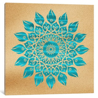 iCanvas Summer Mandala by Diego Tirigall Canvas Print