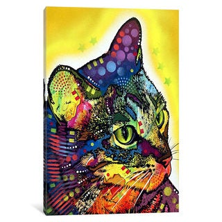 iCanvas Confident Cat by Dean Russo Canvas Print