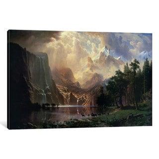 iCanvas Among Sierra Nevada In California by Albert Bierstadt Canvas Print