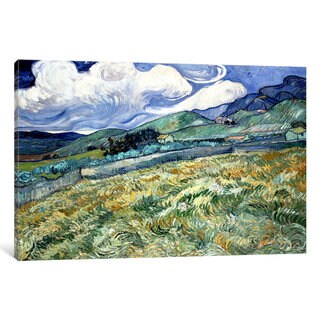 iCanvas Landscape at Saint-Remy by Vincent van Gogh Canvas Print