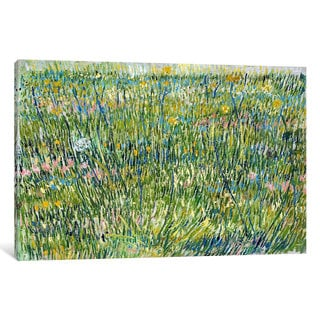 iCanvas Patch of Grass by Vincent van Gogh Canvas Print