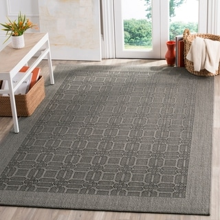 Safavieh Palm Beach Natural Fiber Ash Rug (4' x 6')
