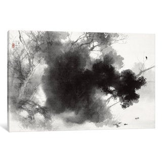 iCanvas Birds at Roost by Takeuchi Seiho Canvas Print