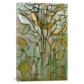 iCanvas Tree, 1912 by Piet Mondrian Canvas Print