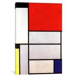iCanvas Tableau l, 1921 by Piet Mondrian Canvas Print