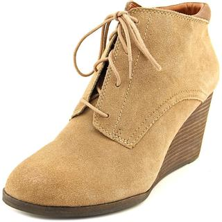Lucky Brand Women's Sumba Tan Suede Boots