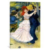 iCanvas Dance at Bougival by Pierre-Auguste Renoir Canvas Print