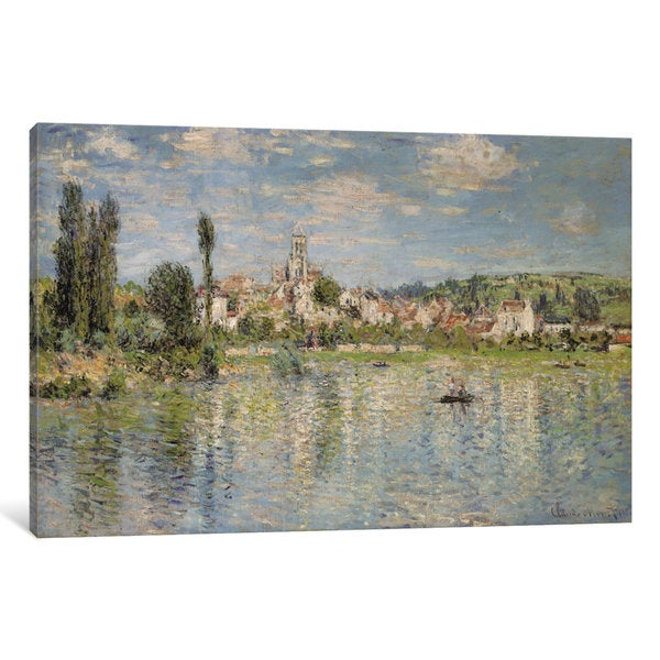 iCanvas Vetheuil in Summer, 1880 by Claude Monet Canvas Print