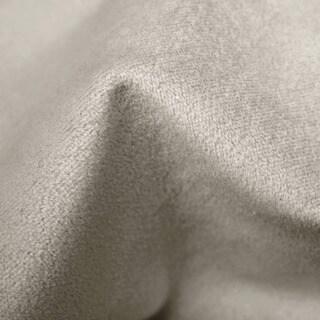 Skyline Furniture Velvet Light Grey Nail Button Headboard