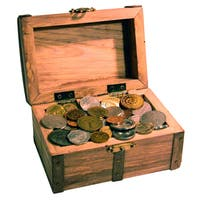 American Coin Treasures Treasure Chest of 50 Coins From Around the World