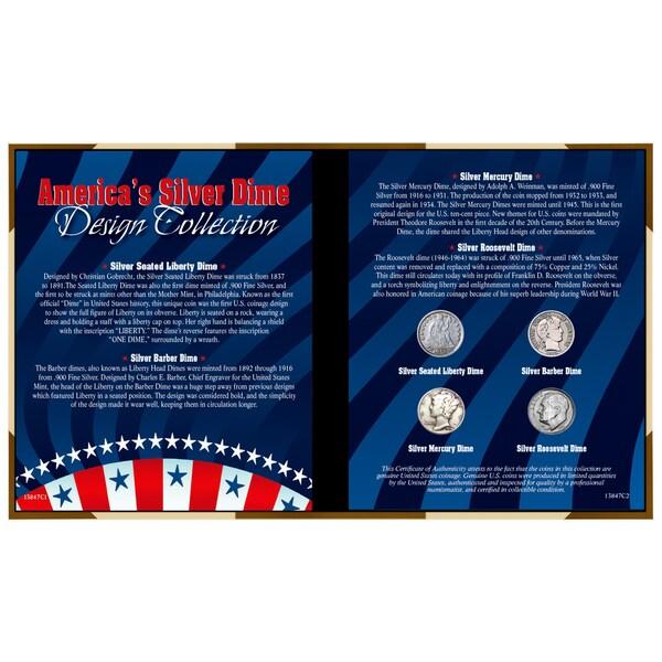 American Coin Treasures America's Silver Dime Design Collection