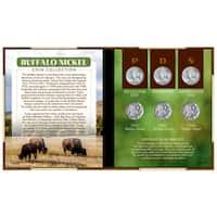 American Coin Treasures Buffalo Nickel Coin Set