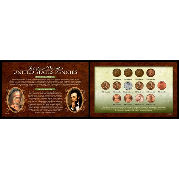 American Coin Treasures 14 Decades of US Pennies