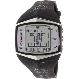 Polar Men's Black Rubber Quartz Watch