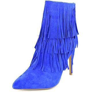 Steve Madden Women's Flapper Blue Suede Boots