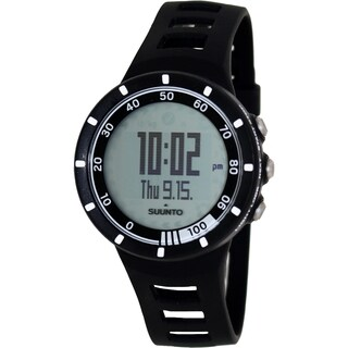 Suunto Women's Quest SS018153000 Black Rubber Quartz Digital Watch