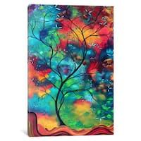 iCanvas Colored Inspiration by Megan Duncanson Canvas Print