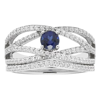 14k White Gold 3/4ct Diamond Bridal Set (H-I, I1-I2)